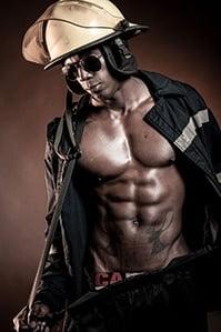 mannelijke stripper victor