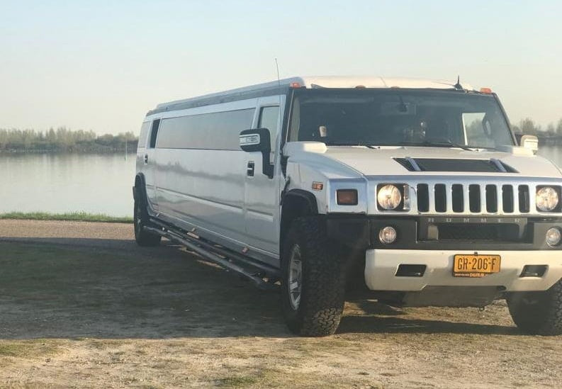 Stripshows in een limousine