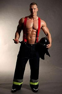 brandweerman stripper huren