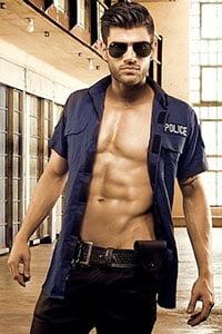 Politie stripper huren
