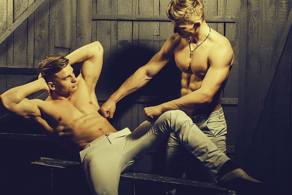 Duo stripshow bij Stripstars